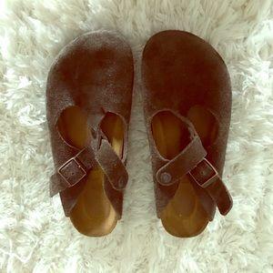 Soft leather Birkenstocks